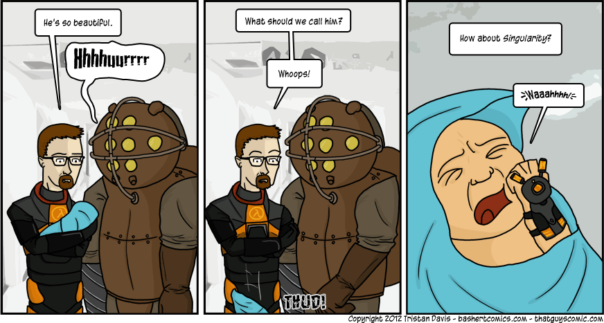 This comic may seem a bit late, as Singularity came out in 2010, but I'm glad I didn't pay full price for this game